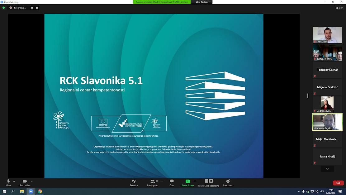 RCK Slavonika 5.1 - usavrsavanje nastavnika
